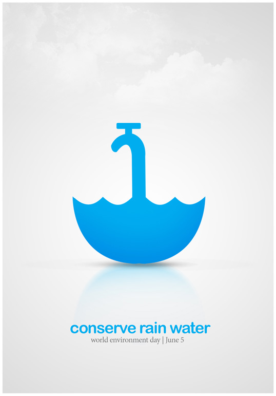 conserve_rain_water_poster